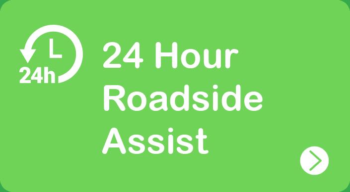 24 Hour Roadside Assist Banner - Green Bean Auto